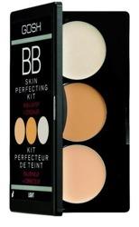 GOSH BB Skin Perfecting Kit - Paleta BB korektorów z rozświetlaczem, 01 Light