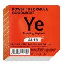 It's Skin Power 10 Formula Good Night Sleeping Capsule Ye Regenerująco-naprawcza dwufazowa maseczka całonocna w kapsułce 5g