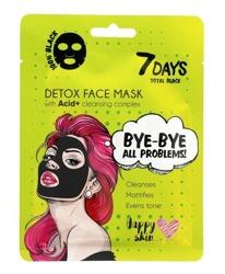 7Days Total Black maska do twarzy Bye-Bye all problems 25g