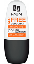 AA MEN Alu Free Deodorant Mineral Care 50ml