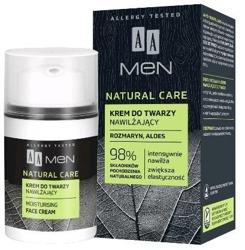AA MEN Natural Care krem do twarzy dla mężczyzn Nawilżający 50ml