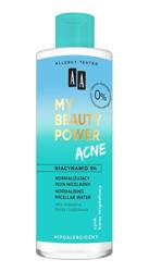 AA My Beauty Power Acne Normalizujący płyn micelarny 200ml