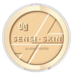 AA SENSI-SKIN Highlighter Modelujący rozświetlacz do twarzy Golden Dust 01