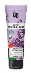 AA Super Fruits&Herbs Ochronna rękawiczka lawenda/figa 100ml