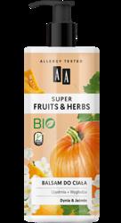 AA Super Fruits&Herbs balsam do ciała dynia/jaśmin 500ml