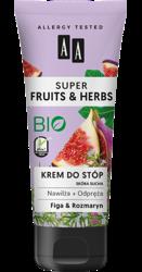 AA Super Fruits&Herbs krem do stóp figa/rozmaryn 75ml
