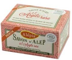 ALEPIA Mydło Alep z Różową Glinką 125g