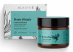 Alkemie Dream of beauty Wyciszająca nocna maska-krem 60ml