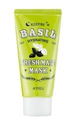 A'pieu Fresh Mate Mask BASIL Całonocna nawadniająca maska do twarzy 50ml