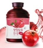 A'pieu Fruit Vinegar Sheet Mask Pomegranate Maska w płachcie 20g