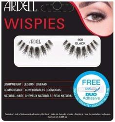 Ardell rzęsy Wispies 600 BLACK + klej