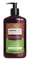ArganiCare Leave-in Conditioner MACADAMIA Odżywka do włosów bez spłukiwania z olejem makadamia 400ml