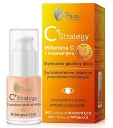 Ava C+ Strategy Stymulator gładkiej skóry, krem pod oczy 15ml