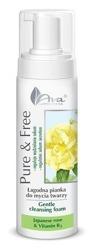 Ava Pure&Free pianka do mycia róża japońska 150ml