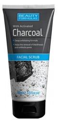 Beauty Formulas Charcoal - Peeling do twarzy z aktywnym węglem 150ml