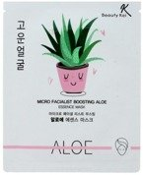 Beauty Kei Maseczka na Twarz Kojąco-Nawilżająca Aloes