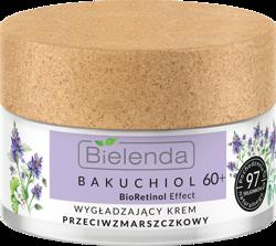 Bielenda BAKUCHIOL BioRetionol Effect Wygładzający krem przeciwzmarszczkowy dzień/noc 60+ 50ml