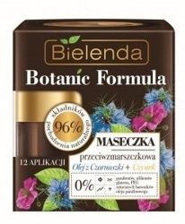 Bielenda Botanic Formula Olej z Czarnuszki + Czystek Maseczka przeciwzmarszczkowa 50ml