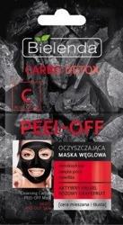 Bielenda Carbo Detox Oczyszczająca maska węglowa peel-off 2x6g