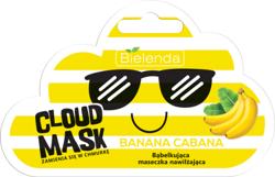 Bielenda Cloud Mask BANANA CABANA Bąbelkująca maseczka nawilżająca 6g