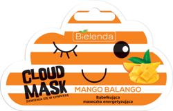 Bielenda Cloud Mask MANGO BALANGO Bąbelkująca maseczka energetyzująca 6g