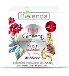 Bielenda Red Ginseng przeciwzmarszczkowy krem 40+ dzień/noc 50ml