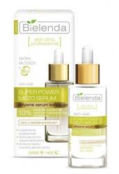 Bielenda Skin Clinic Professional Super Power Mezo Serum - Aktywne serum korygujące do twarzy na dzień i noc, 30 ml