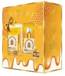 Bielenda Zestaw Manuka Honey Krem odżywczo nawilżający 50ml + Serum odżywczo-nawilżające 30g