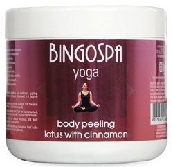 BingoSpa Yoga Cynamonowy peeling do ciała z lotosem  600g