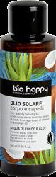 BioHappy Olejek podkreślający opaleniznę i pielęgnujący włosy Woda Kokosowa&Aloes 100ml