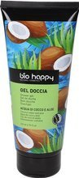 BioHappy Żel pod prysznic Woda Kokosowa&Aloes 200ml