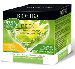 Bioetiq Krem Hipoalergiczny Na Dzień Naturalna Odnowa Komórkowa 40+ 50ml