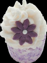 Bomb Cosmetics Babeczka Violet Nights 50g