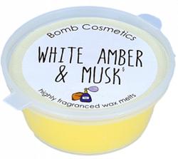 Bomb Cosmetics Wosk zapachowy WHITE AMBER&MUSK 35g