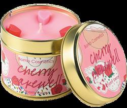 Bomb Cosmetics świeca zapachowa puszka Cherry Backewell