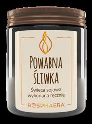 Bosphaera świeca sojowa POWABNA ŚLIWKA 190g