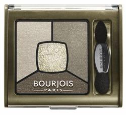 Bourjois Smoky Stories Eyeshadow - Poczwórne cienie do powiek 04 Rock This Khaki