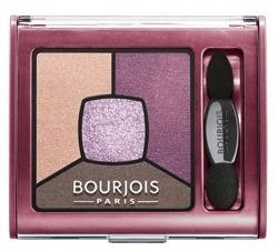 Bourjois Smoky Stories Eyeshadow Poczwórne cienie do powiek 15 Brilliant prunette