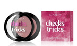 CLARESA CHEEKS TRICKS Prasowany róż do policzków 03 ILLUSION 4g