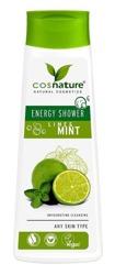 COSNATURE Naturalny energetyzujący żel pod prysznic z limonką i miętą 250ml