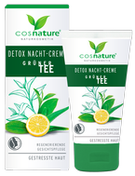 COSNATURE Naturalny krem DETOX na noc z zieloną herbatą 50ml