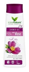 COSNATURE Naturalny odżywczy żel pod prysznic z dziką różą 250ml