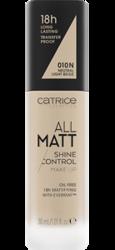 Catrice All Matt Shine Control Podkład matujący 010N Neutral Light Beige 30 ml