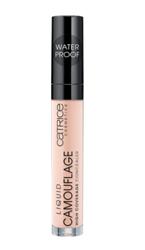 Catrice Liquid Camouflage High Coverage Concealer Wodoodporny kryjący korektor w płynie 007 Natural Rose 5ml