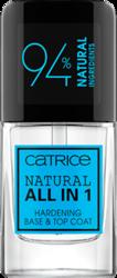 Catrice Natural All in 1 hard base&top coat baza i top coat do paznokci 10,5ml