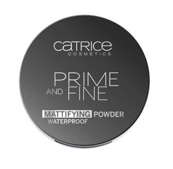Catrice Prime And Fine Pore Refining Anti-Shine - Wodoodporny puder matujący 010 Translucent, 9 g