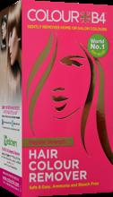 Colour B4 Hair Colour Remover Regular Strength - Zestaw do dekoloryzacji włosów jasnych oraz jasno-brązowych