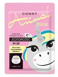 Conny Animal Mask JEDNOROŻEC Rozświetlająca maska w płachcie 21ml
