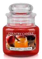 Country Candle Słoik średni Spiced Apple Chai-der 453g