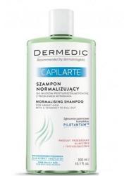 DERMEDIC CAPILARTE Szampon normalizujący do włosów przetłuszczających się z problemem wypadania 300ml